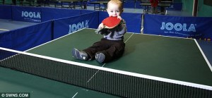 baby table tennis
