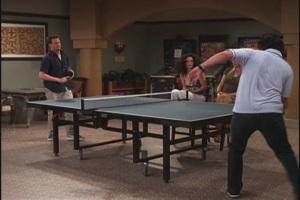 Friends table tennis