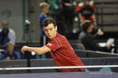 Bayreuth Open 2015 Internationales Tischtennis Weltranglistenturnier in der Oberfrankenhalle Bayreuth; Fotograf Petra Steyer