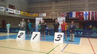 Nathan on Spain Podium