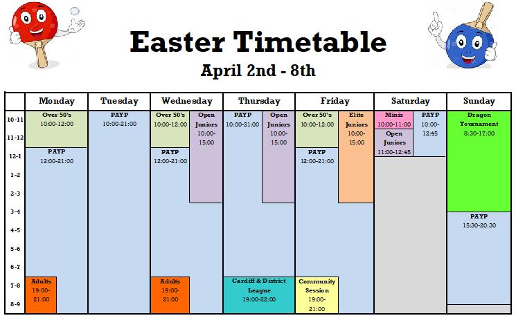 Easter2018 week 1